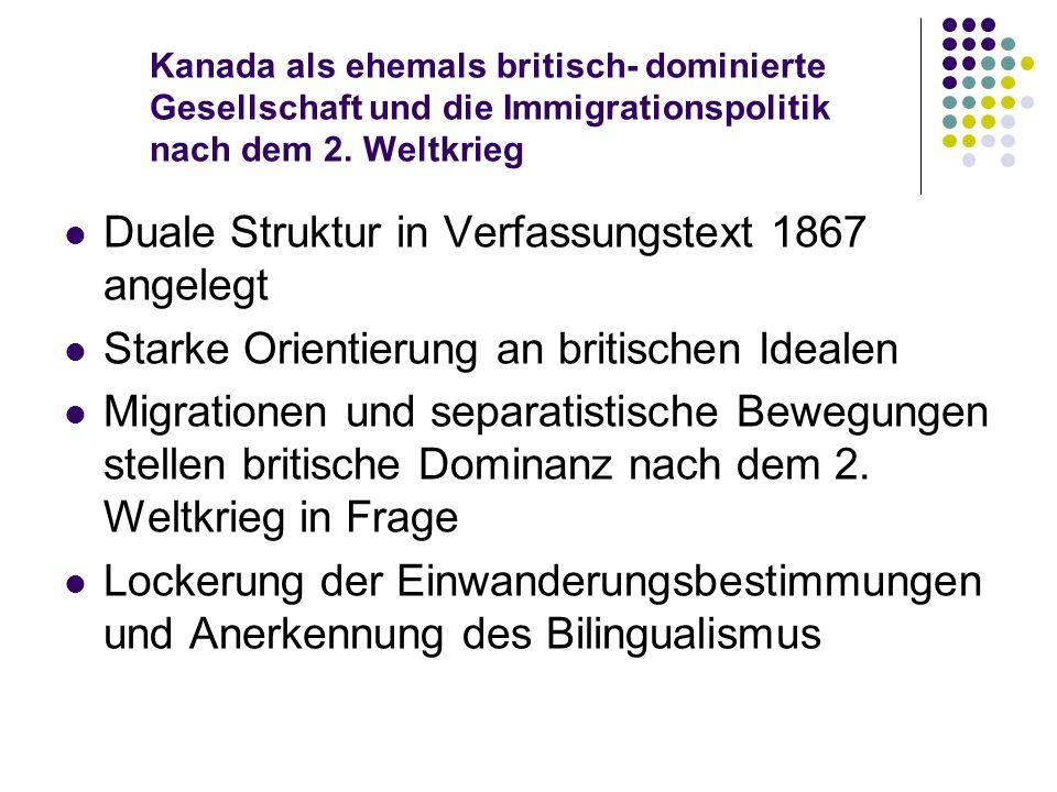 Duale Struktur in Verfassungstext 1867 angelegt