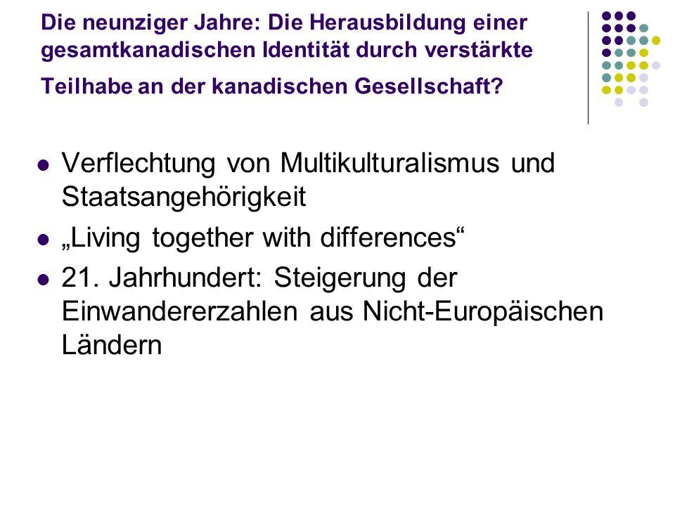 Verflechtung von Multikulturalismus und Staatsangehörigkeit