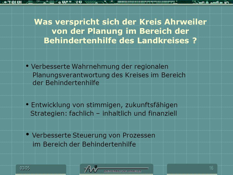 Was verspricht sich der Kreis Ahrweiler von der Planung im Bereich der