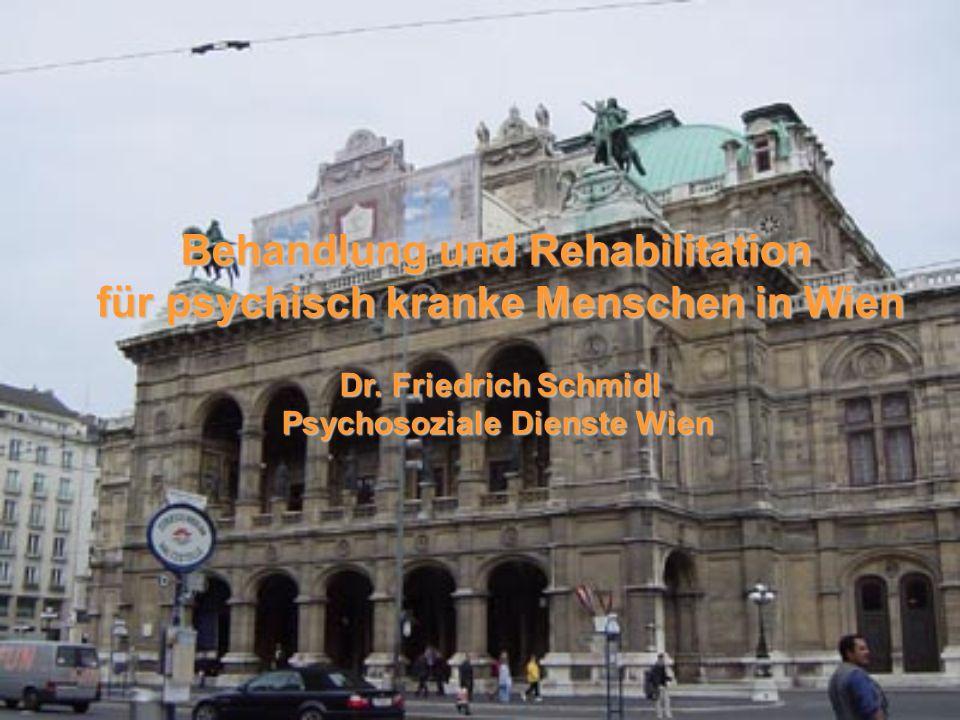 Behandlung und Rehabilitation für psychisch kranke Menschen in Wien