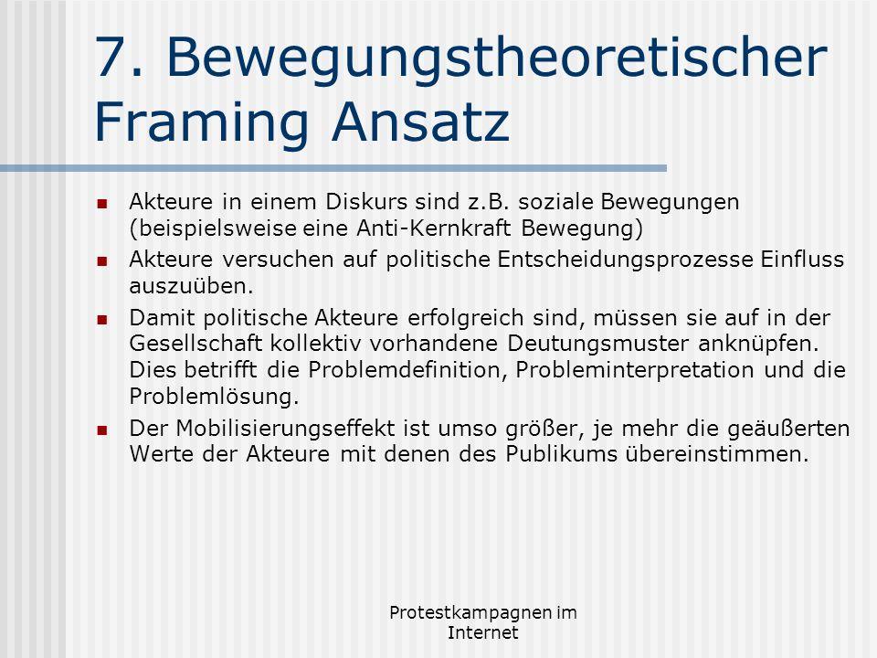 7. Bewegungstheoretischer Framing Ansatz