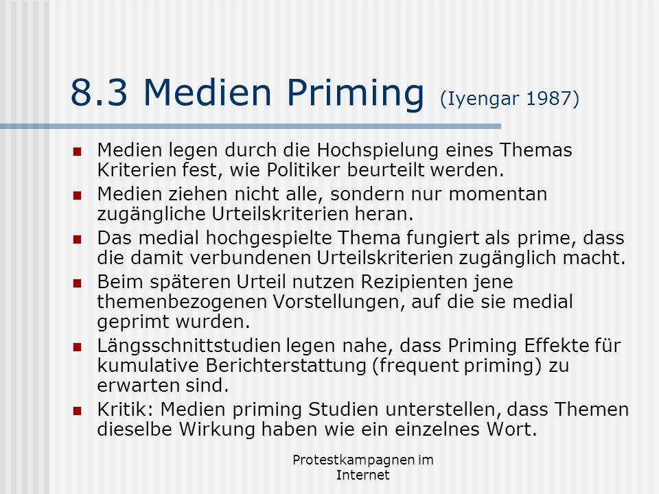 8.3 Medien Priming (Iyengar 1987)