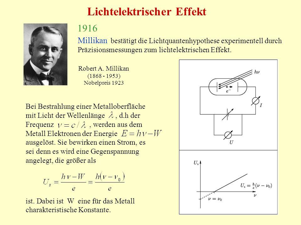 Lichtelektrischer Effekt