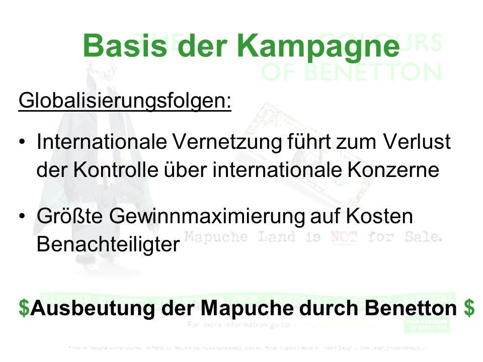Basis der Kampagne Globalisierungsfolgen: