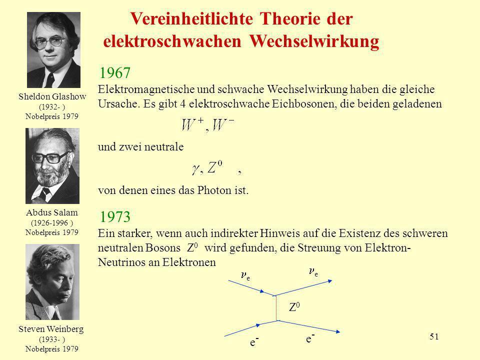Vereinheitlichte Theorie der elektroschwachen Wechselwirkung