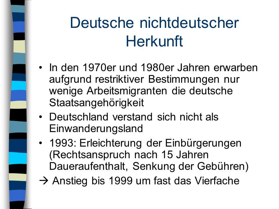 Deutsche nichtdeutscher Herkunft