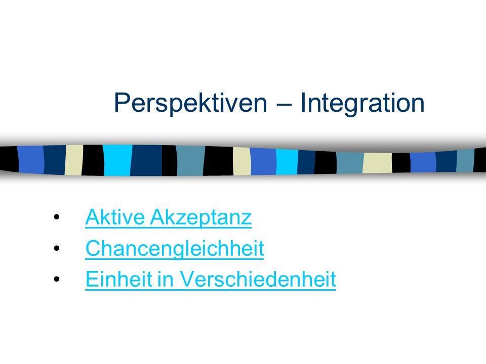 Perspektiven – Integration