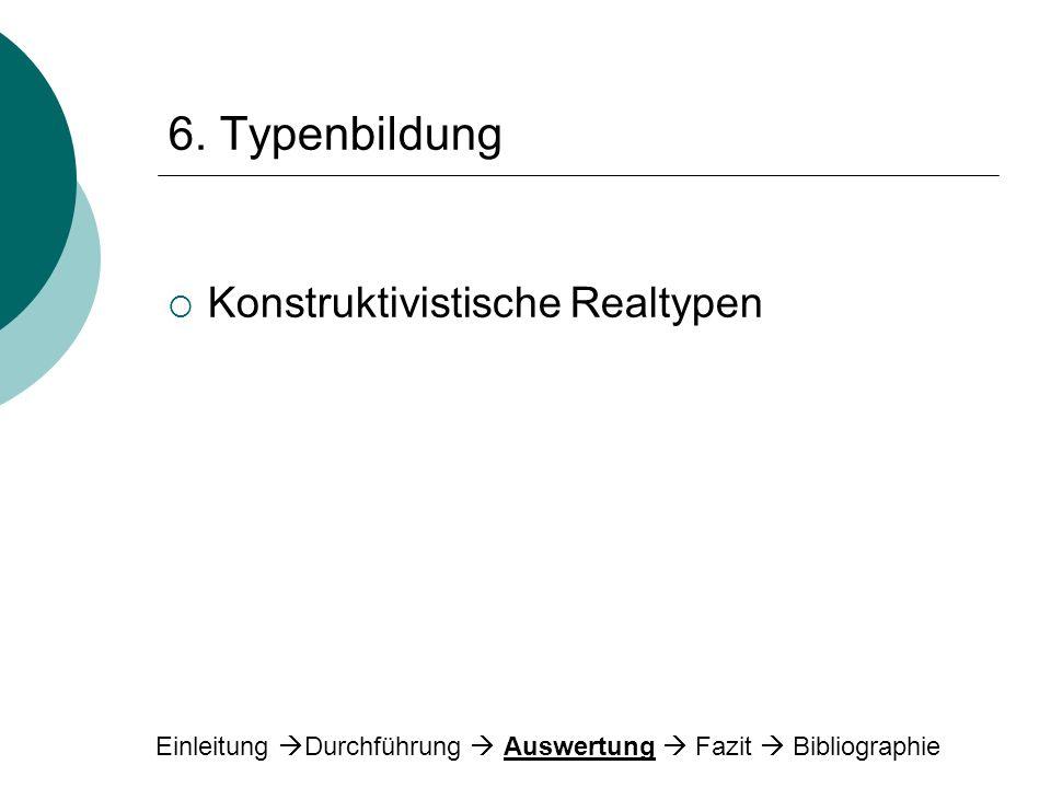 6. Typenbildung Konstruktivistische Realtypen