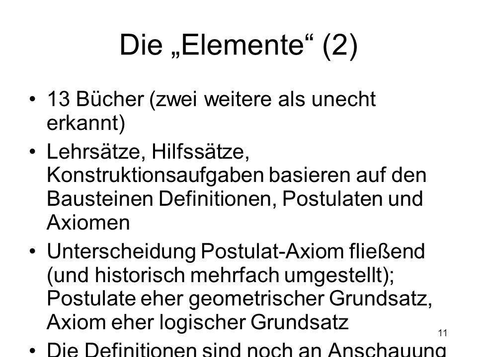 """Die """"Elemente (2) 13 Bücher (zwei weitere als unecht erkannt)"""