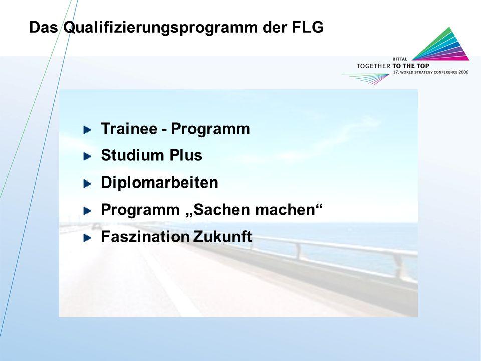 Das Qualifizierungsprogramm der FLG