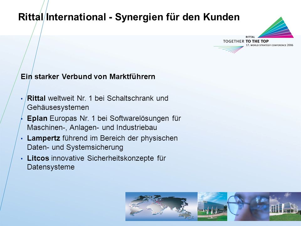 Rittal International - Synergien für den Kunden
