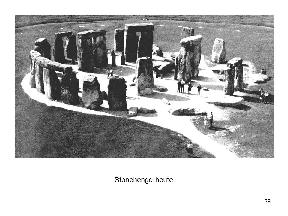 Stonehenge heute