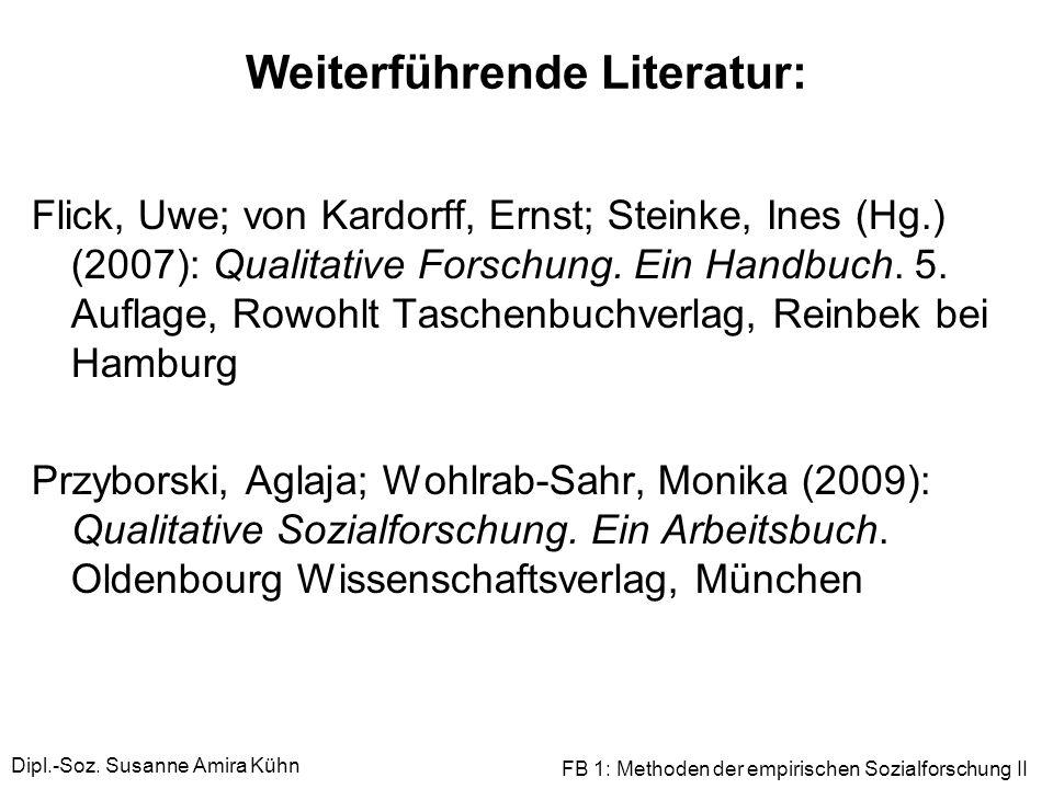 Weiterführende Literatur: