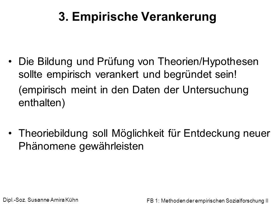 3. Empirische Verankerung