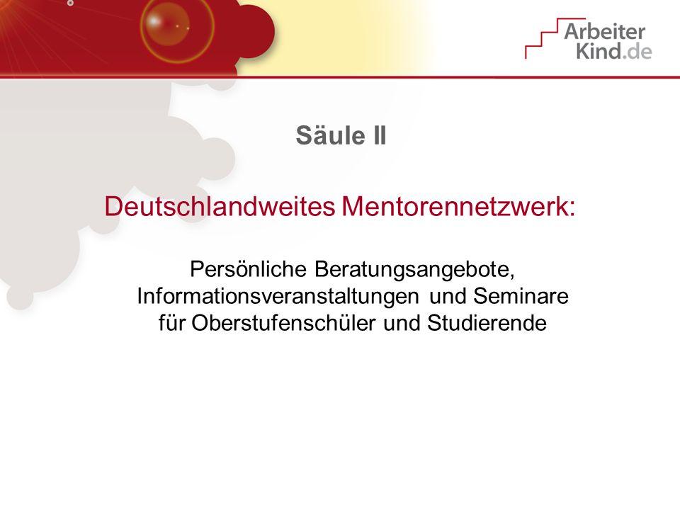 Deutschlandweites Mentorennetzwerk: