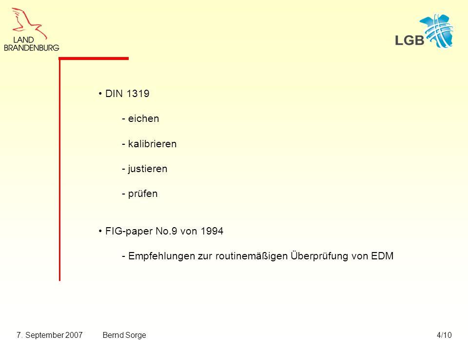 DIN 1319 - eichen. - kalibrieren. - justieren.
