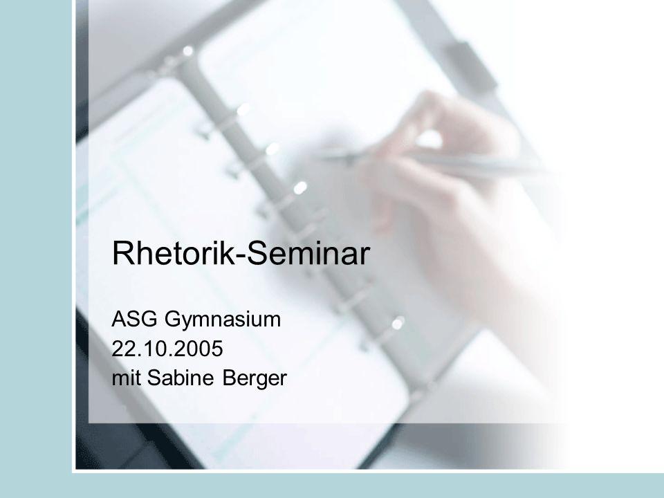 ASG Gymnasium 22.10.2005 mit Sabine Berger