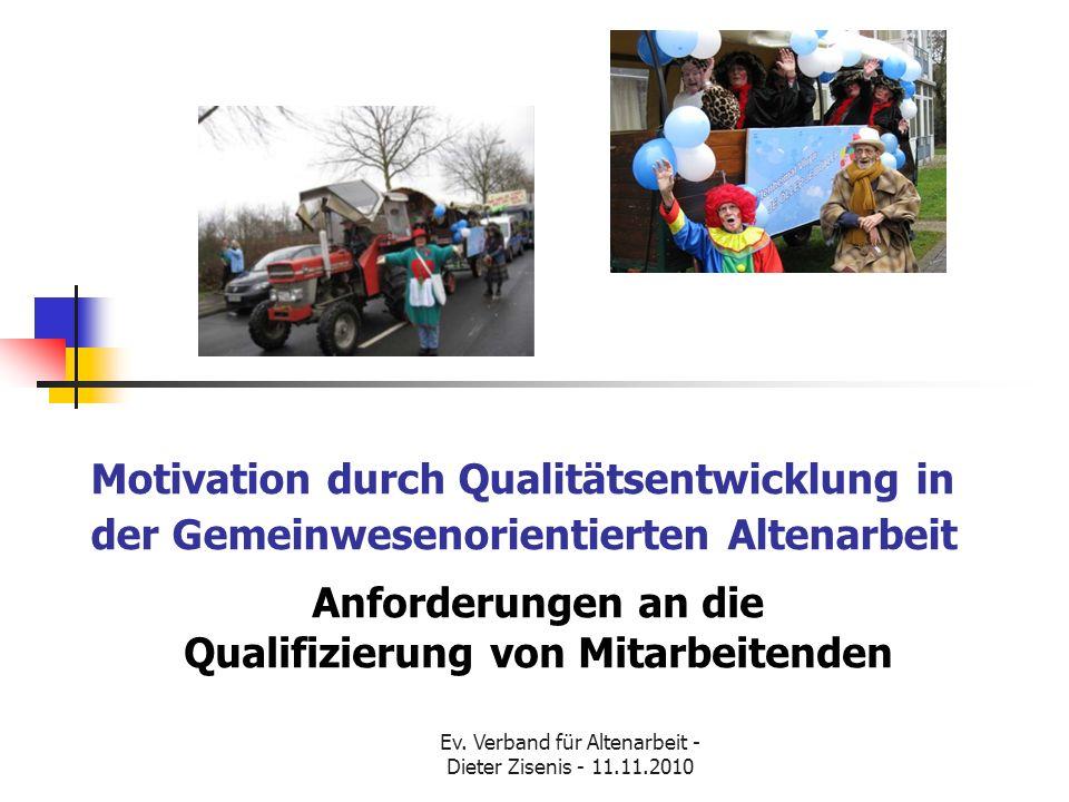 Anforderungen an die Qualifizierung von Mitarbeitenden