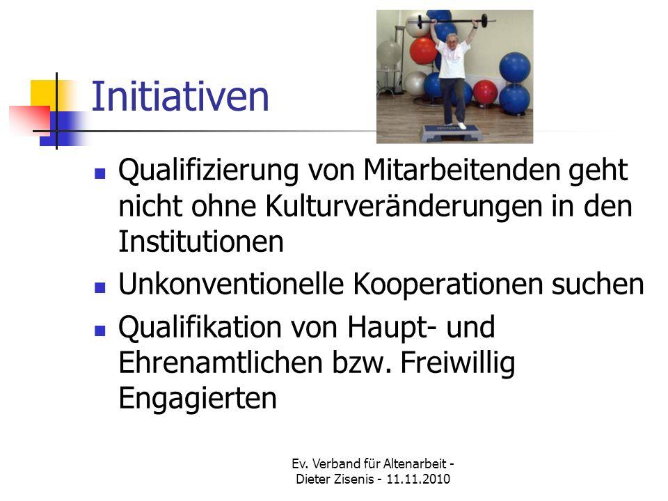 Ev. Verband für Altenarbeit - Dieter Zisenis - 11.11.2010