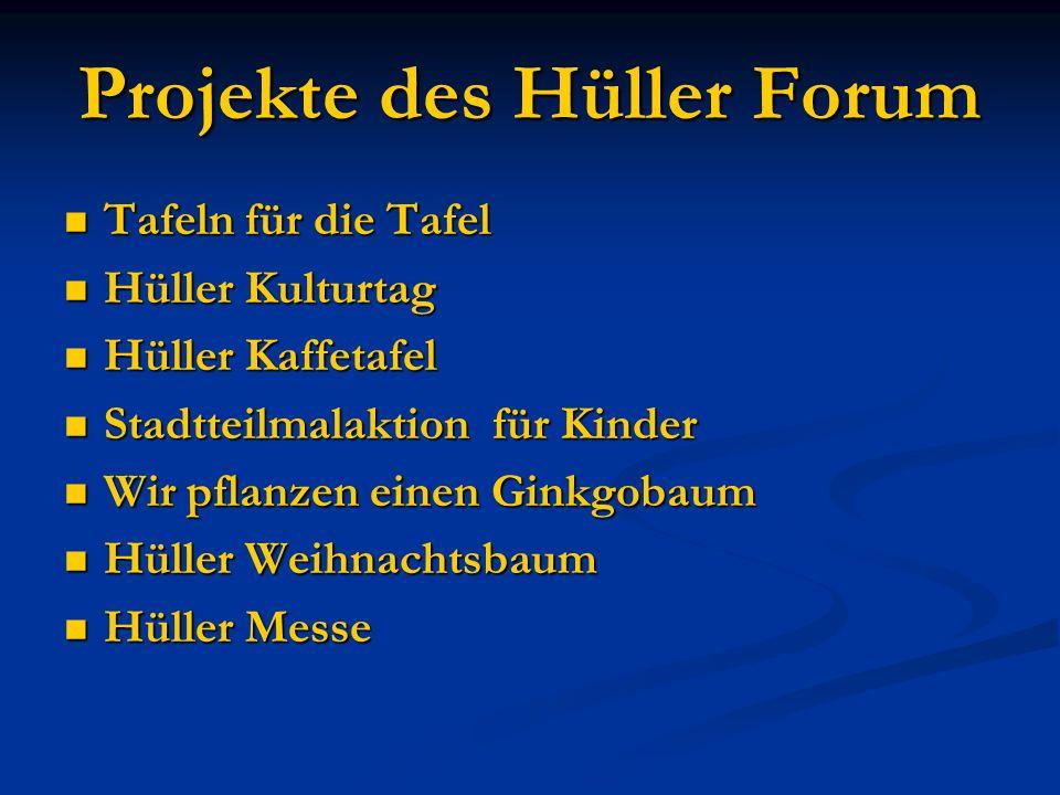 Projekte des Hüller Forum