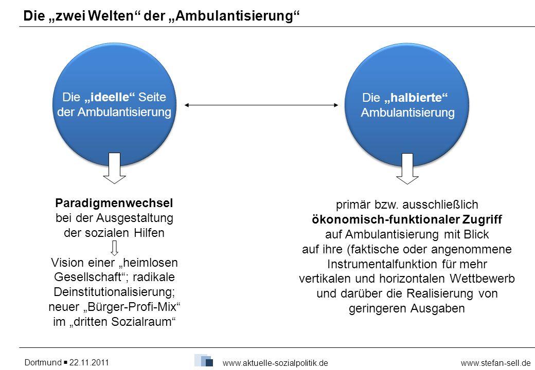 """Die """"zwei Welten der """"Ambulantisierung"""