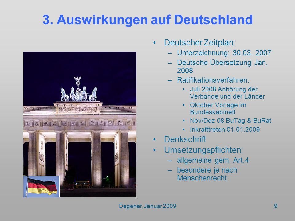 3. Auswirkungen auf Deutschland