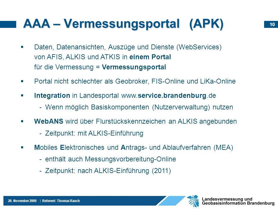 AAA – Vermessungsportal (APK)