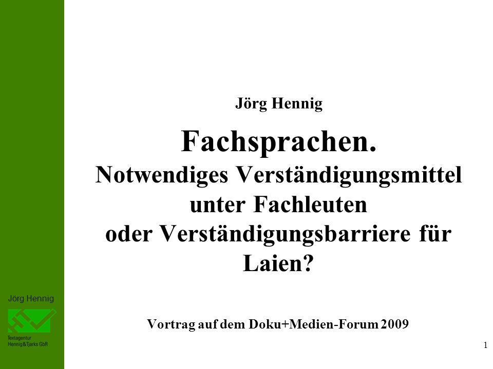 Vortrag auf dem Doku+Medien-Forum 2009