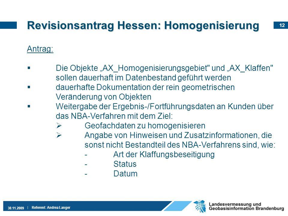 Revisionsantrag Hessen: Homogenisierung