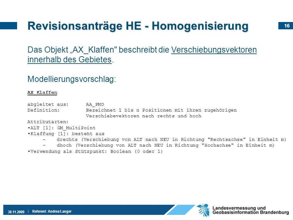 Revisionsanträge HE - Homogenisierung