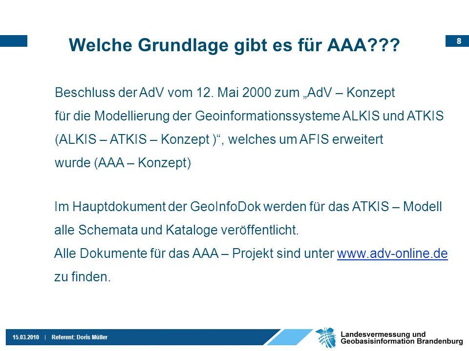 Welche Grundlage gibt es für AAA