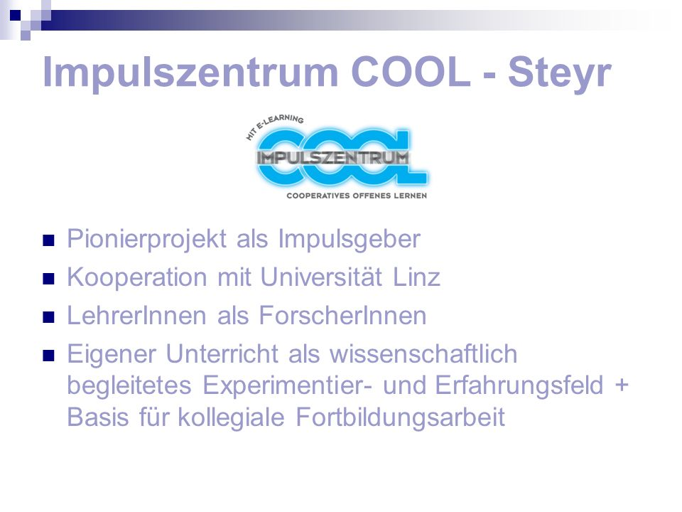 Impulszentrum COOL - Steyr