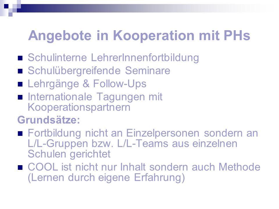 Angebote in Kooperation mit PHs