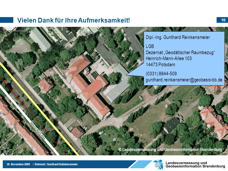 © Landesvermessung und Geobasisinformation Brandenburg