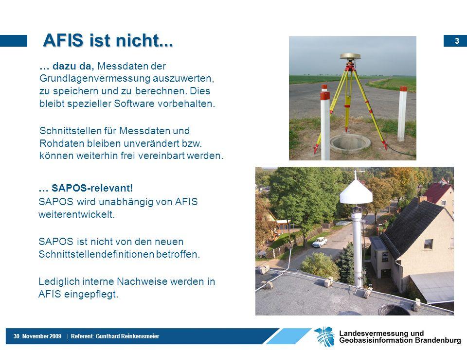 AFIS ist nicht...