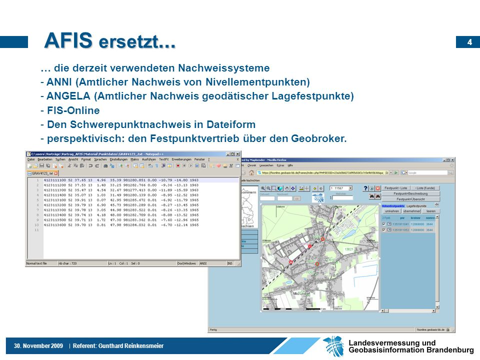 AFIS ersetzt... … die derzeit verwendeten Nachweissysteme