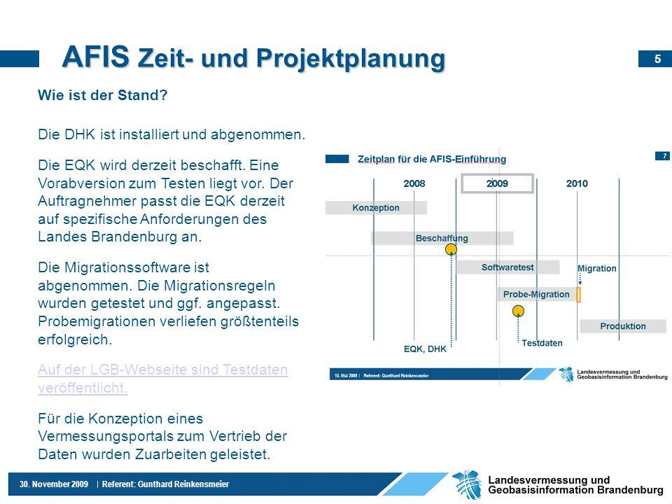 AFIS Zeit- und Projektplanung