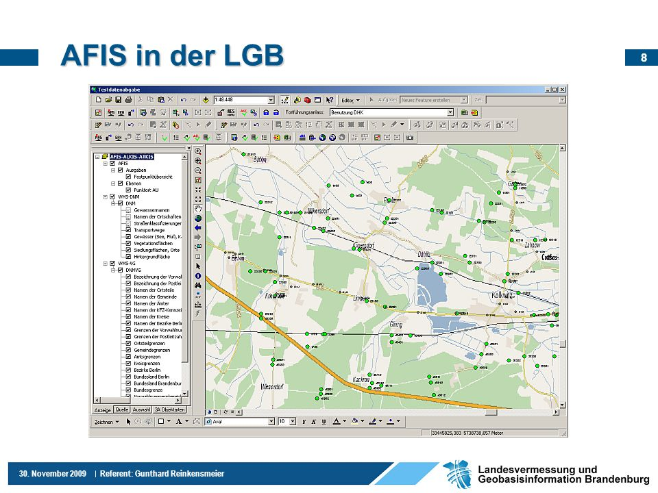 AFIS in der LGB
