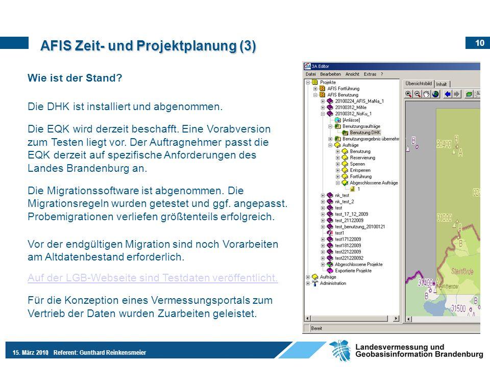 AFIS Zeit- und Projektplanung (3)