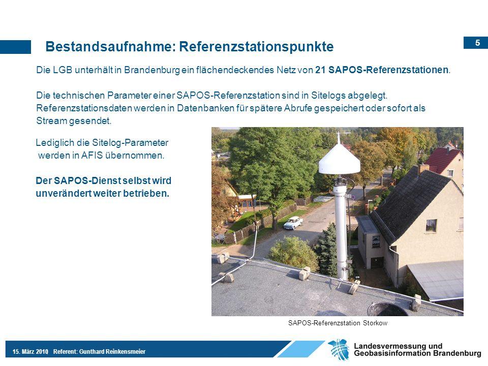 SAPOS-Referenzstation Storkow