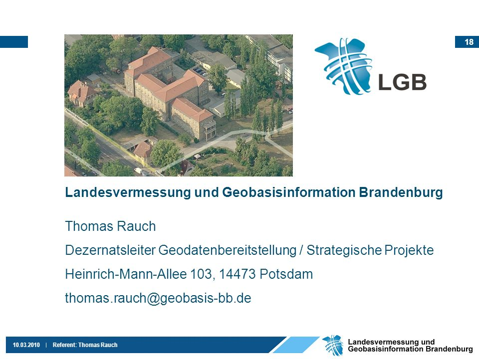 Landesvermessung und Geobasisinformation Brandenburg