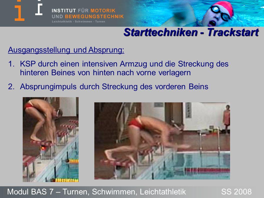 Starttechniken - Trackstart