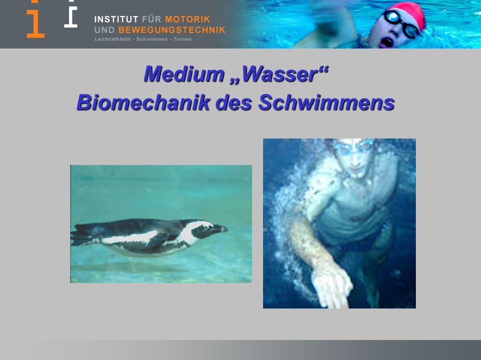 Biomechanik des Schwimmens
