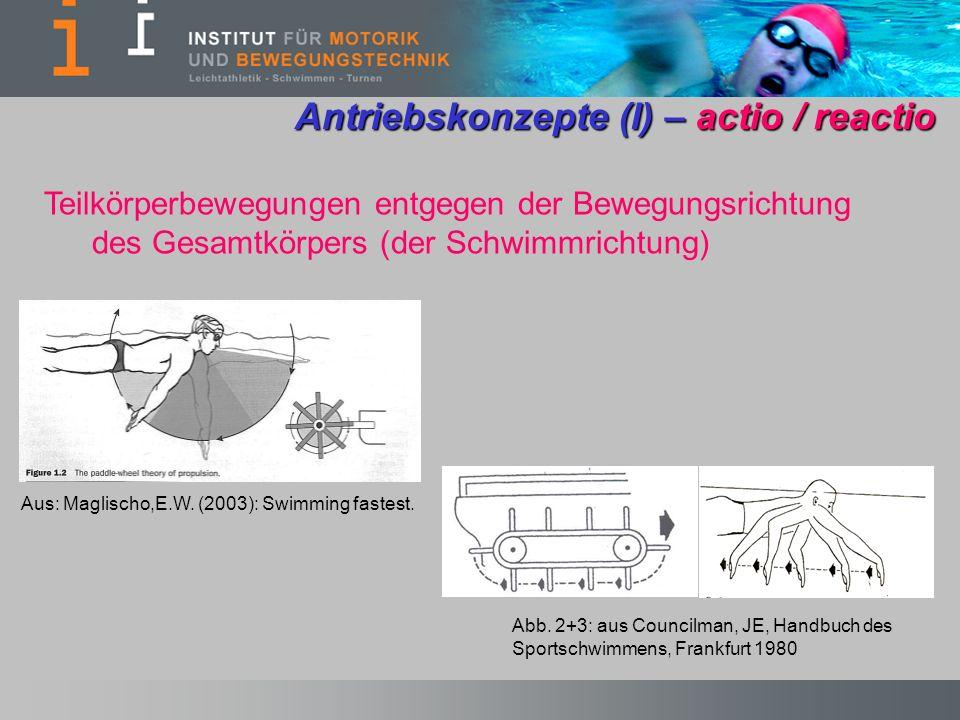 Antriebskonzepte (I) – actio / reactio