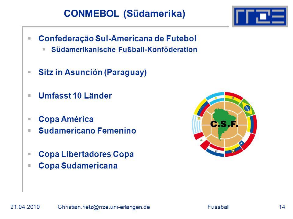 CONMEBOL (Südamerika)