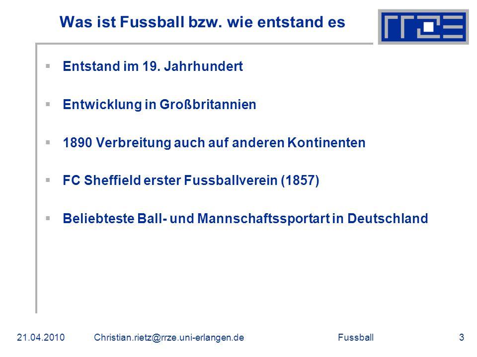 Was ist Fussball bzw. wie entstand es