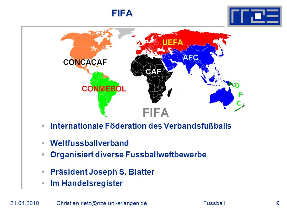 FIFA Internationale Föderation des Verbandsfußballs