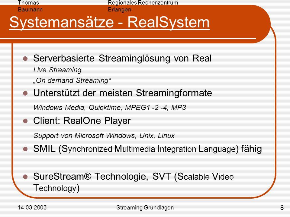 Systemansätze - RealSystem