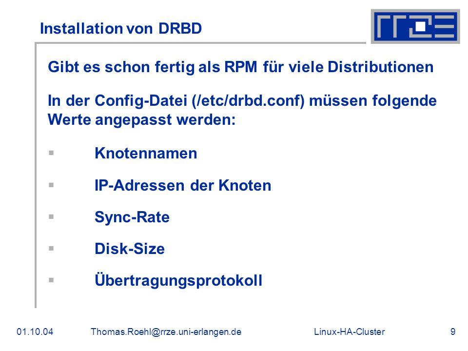 Gibt es schon fertig als RPM für viele Distributionen