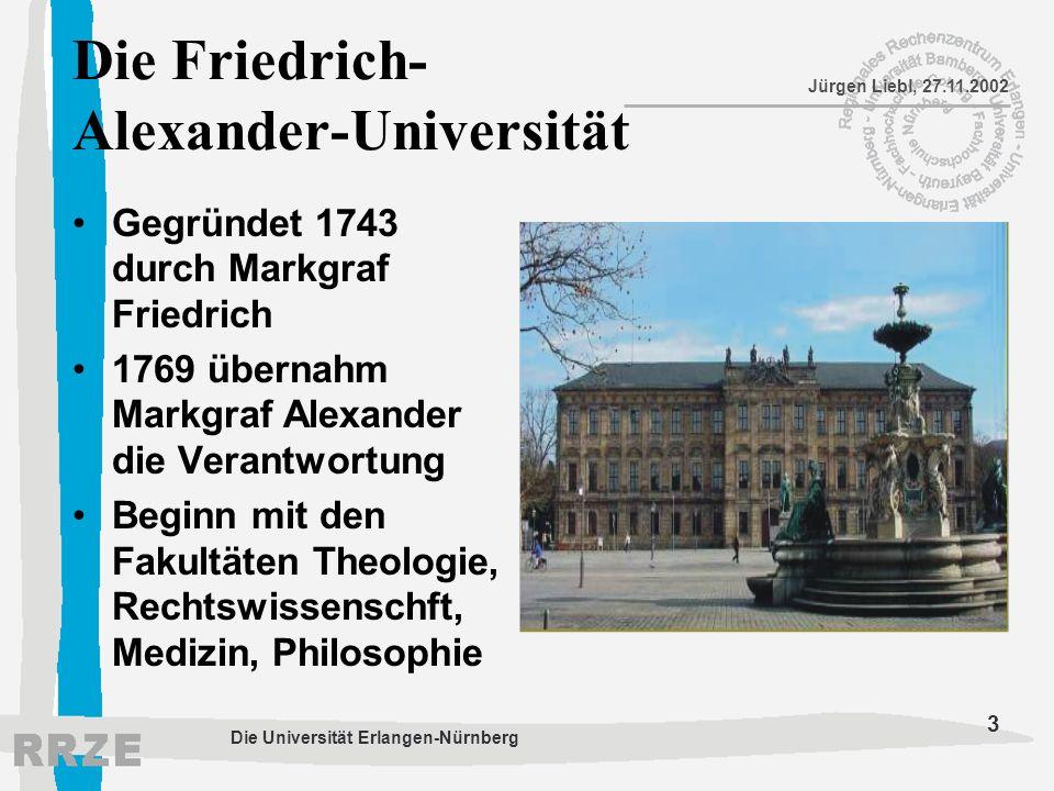 Die Friedrich-Alexander-Universität